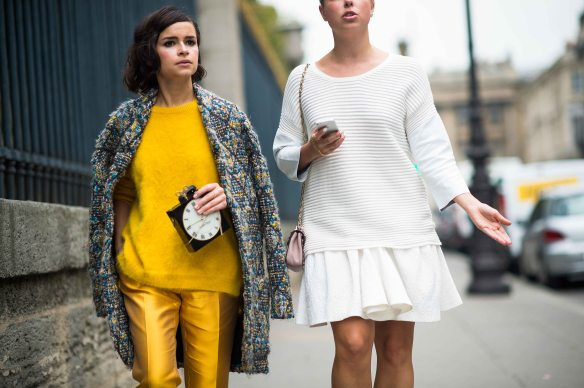 On The Streets Of Paris Fashion Week 2014 Laurence Ourac