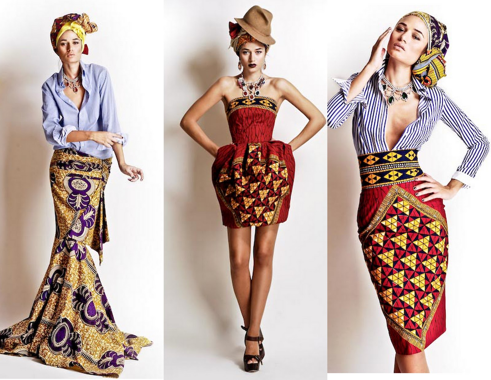 African Fashion Inspiration By Laurence Ourac