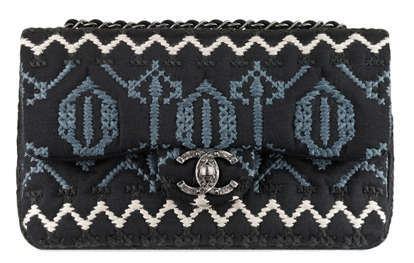 Chanel-Embroidered-Jersey-Flap-Bag