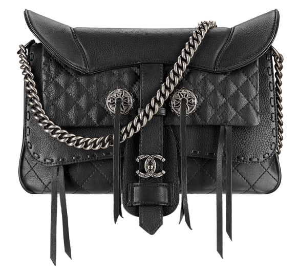 Chanel-Fringe-Saddle-Flap-Bag