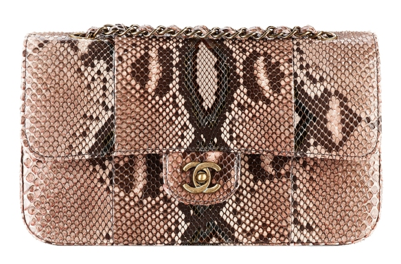 Chanel-Snakeskin-Classic-Flap-Bag