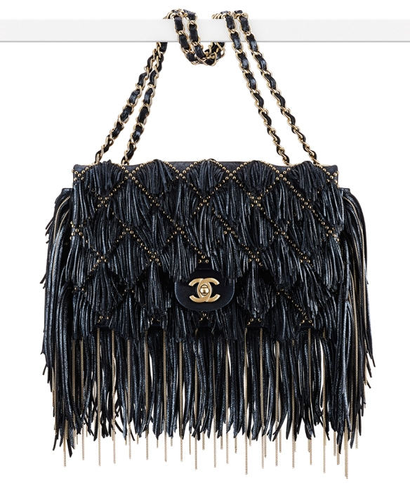 Chanel-Sueded-Leather-Fringe-Flap-Bag