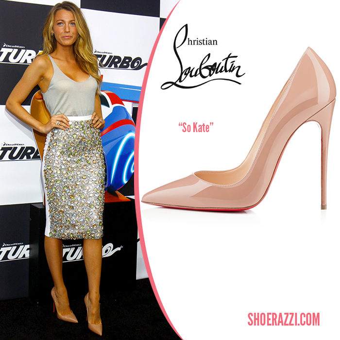 The christian louboutin so kate pumps by laurence ourac