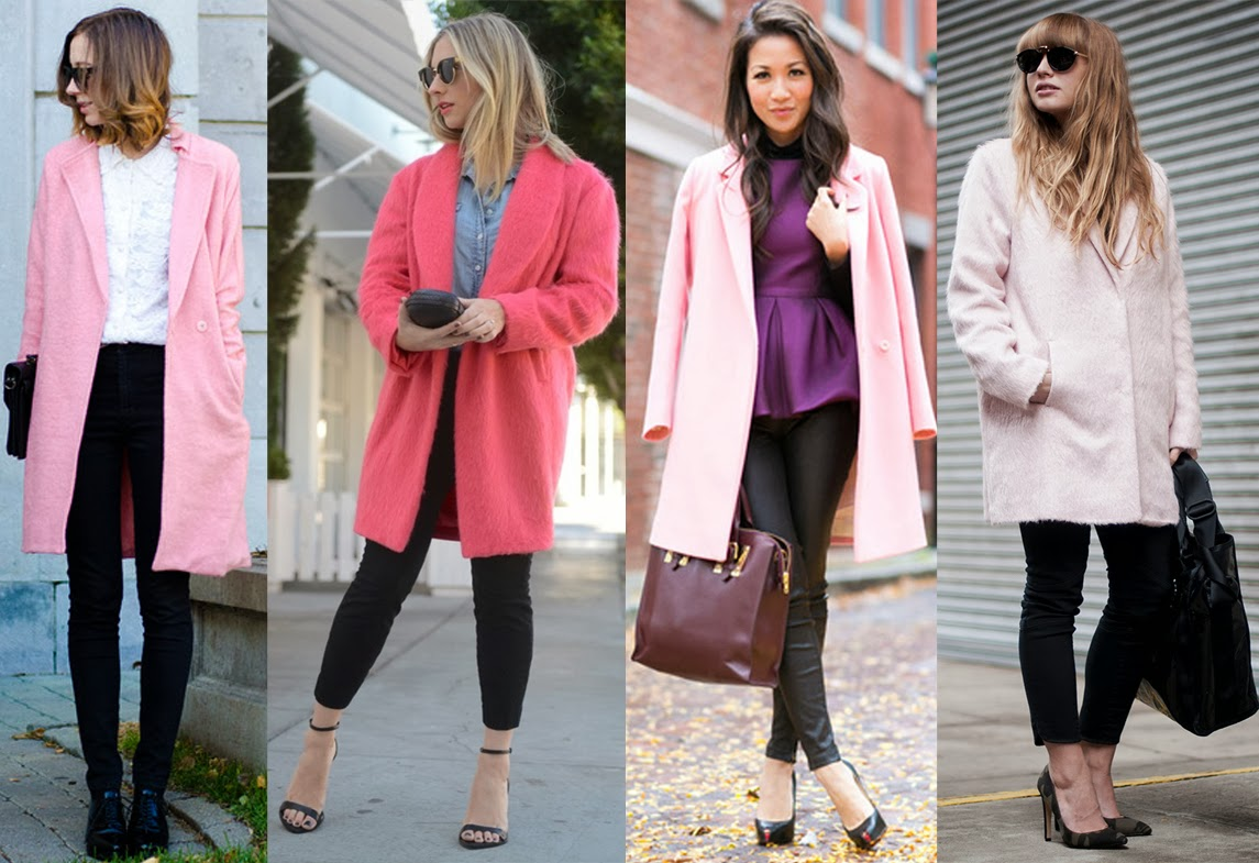 How To Wear A Pink Coat | Down Coat