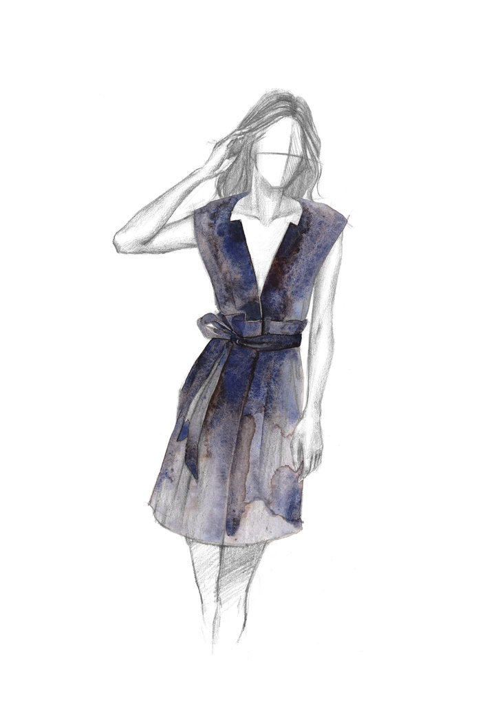 These Fashion Sketches Are A Sneak Peek Into Nyfw By Laurence Ourac Laurence Ourac